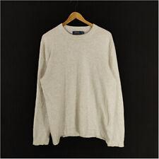 Polo Ralph Lauren Cashmere Sweater Pullover Off White Men's XL Crew Neck