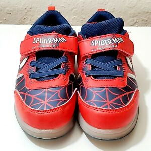 BoysGirls Spiderman 2020 Spring Autumn Kids Led Shoes With Lights Sneaker  Shoes