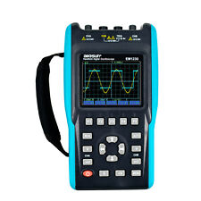Handheld Digital 2 in 1 Oscilloscope&Multimeter TRMS 25MHz Color 2 Channels DMM