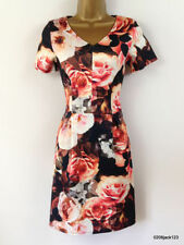 TU V-Neck Short Sleeve Floral Dresses for Women