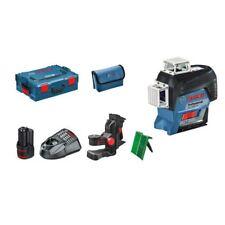 Bosch GLl 3-80 CG líneas láser (0601063t00) 1 x 2,0 ah batería, soporte bm1, l-BOXX