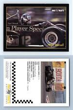 Nigel Mansell #125 Formula 1 Pro Trac's 1991 Premier Racing Card
