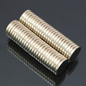 50 PCS 15X3MM N52 SUPER STRONG ROUND DISK RARE EARTH NEODYMIUM MAGNET uk