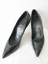 "Court Shoes Collection "" Black "" Years 1960 Parigina T.35,5"