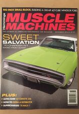 Hemmings Muscle Machines Charger R/T Auto car Windsor Ford Nov 2014 FREE SHIPPIN