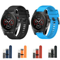 HOT Quick Replacement Silicone Wrist Band Strap For Garmin Fenix 5X GPS Watch