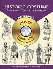 Historic Costume CD-ROM and Book: From Ancient Times to the Renaissance (Dover