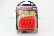 Gummi-Patronen 40 Stück für Maxy Kayne Spielzeuggewehr Gummigeschosse NEU
