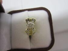 GORGEOUS ESTATE 14 KT GOLD 1.26 CTW FANCY CHAMPAGNE DIAMOND RING 6 GRAMS !!!!!!