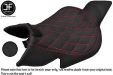 GRIP VINYL RED DIAMOND ST CUSTOM FITS BENELLI 1130 TNT 04-15 FRONT SEAT COVER