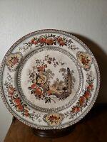 "Antique PARMA 10 1/4"" Plate Marked  PARMA B. & B. Nice Dinner Plate Decor VTG"
