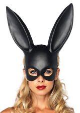 Bondage Bunny Mask Leg Avenue Masquerade Ball Party Rabbit Fetish Black