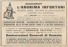 Z1233 Assicurazioni Generali di Venezia - Pubblicità d'epoca - 1932 Old advert