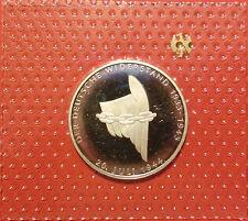 BRD 10 Deutsche Mark 1994 A Deutscher Wiederstand PP  15,5g  625er Silber