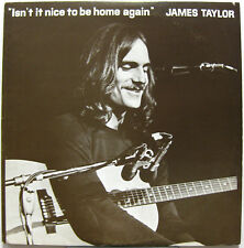 JAMES TAYLOR Isn't It Nice To Be Home Again 2XLP Live 1971 RUBBER DUBBER 71-014
