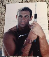 James Bond Sean Connery 007 SIGNED PHOTO Autograph GA COA