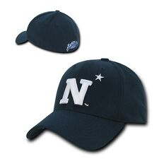 NCAA USNA United States Naval Academy Low Constructed Flex Acrylic Caps Hats
