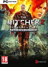 The witcher 2-assassins of kings-enhanced edition pour pc (neuf & scellé)
