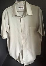 Vintage Retro McGregor Men's Lg Short Sleeve, light green
