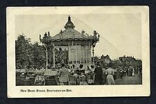 "C1910 View of the ""New"" Band Stand, Southend-on-Sea, Essex."