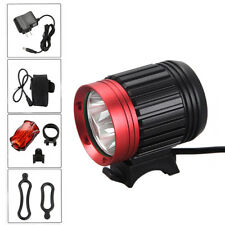 9000LM 3x CREE XML T6 LED Front Bicycle Headlight Light Headlamp Lamp 6400mAh CH