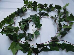 203CMS! WIRED ARTIFICIAL/PLANT/IVY/GARLAND/GREEN /CHRISTMAS/DECORATION
