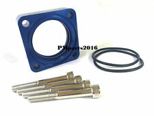 Blue Throttle Body Spacer fit 91-93 Nissan NX 2.0L & 90-92 Axxess Stanza 2.4L