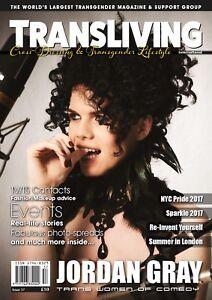Transliving 57 Magazine Transgender, Non-Binary, X-Dress, Transvestite Lifestyle