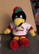 FREDBIRD FRED BIRD ~ Build A Bear St. Louis Cardinals Baseball Stuffed Plush