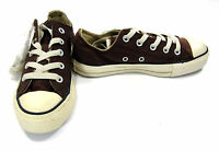 Converse Shoes Chuck Taylor Ox All Star Double Brown Sneakers Men 3 Women 5