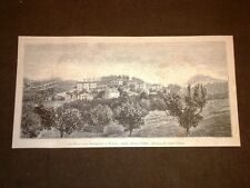 Ascoli Piceno nel 1881 Le Bigattiere Tranquilli in Fajano o Faiano
