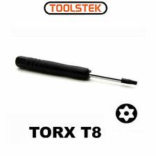 Black T8 Torx Screwdriver Repair Tool For XBOX 360 Controller PS3 Slim TomTom
