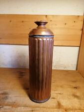 alte schöne französische Wärmflasche