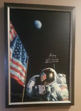 John Young Apollo 16 Alan Bean 12 Signed An American Success Story Gicle Print