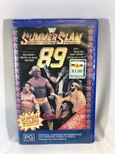 Pro Wrestling/WWE PG Rated VHS Movies