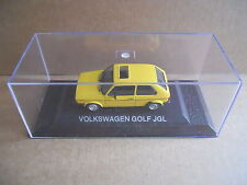 VOLKSWAGEN GOLF JGL Legendary Cars 1:43 Die Cast in Box in Plexiglass [MV10]