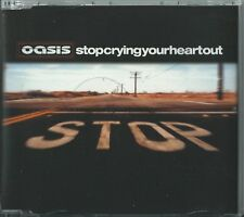 OASIS - STOP CRYING YOUR HEART OUT 2002 UK 3 TRACK CD SINGLE RKIDSCD24