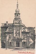 Kulmbach Rathaus AK Künstler Bayern 1709306