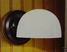 RUBBED OIL BRONZE WALL SCONCE LIGHT WITH GLASS