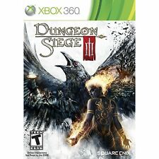 Dungeon Siege III 3 Xbox 360 New Sealed