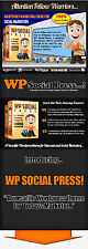 Internet Marketing Wordpress Theme for  Social Marketers on CD