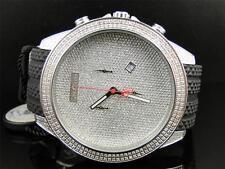 Mens Joe Rodeo Empire Jojo Jojino Rubber Band Diamond Watch JREM1 2.25 Ct