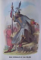 Clan MacDonald of the Isles - Scottish Tartan Art Print - MATTED