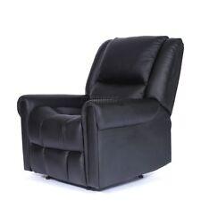 Canapés noirs en cuir pour la maison