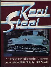 Real Steel - An investor's guide to the American Automobile (1940-1960