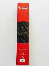 "NIB Vanguard 44"" Black Cotton Belt W/ Blk Tip & Blk Metal Roller Buckle Included"
