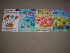 Brand New Lot of 4 Babycakes Cake Pops and Cupcake Maker Books Moore & Wyss