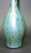 100% True Glamorous Bohemian Art Nouveau Jugendstil Iridescent Glass Vase Glass Pottery & Glass