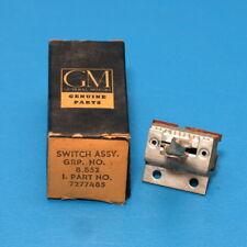 NOS GM Heater Blower Motor Switch 1961-1962 Pontiac Bonneville Catalina