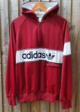 Vintage Original 80s Adidas New York Rare burgundy Colourway Colorado hoodie